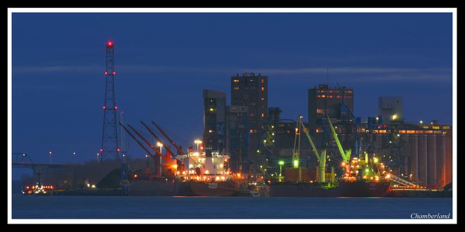 Port de Trois-Rivières. Trois-Rivières, QC