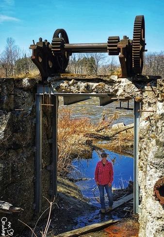 Vestiges du vieux moulin Breakeyville, QC