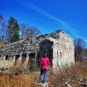 Au vestige du vieux barrage