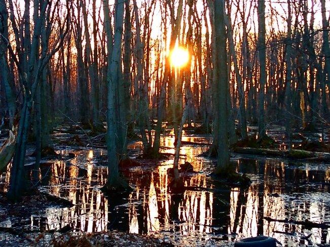 coucher du soleil Sorel-Tracy, QC