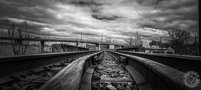 le chemin de fer Trois-Rivières, QC