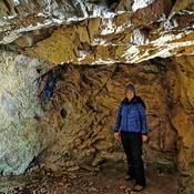 La vieille grotte, ancienne entrepôt de dynamite