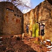 La vieille maison de pierres abandonnées