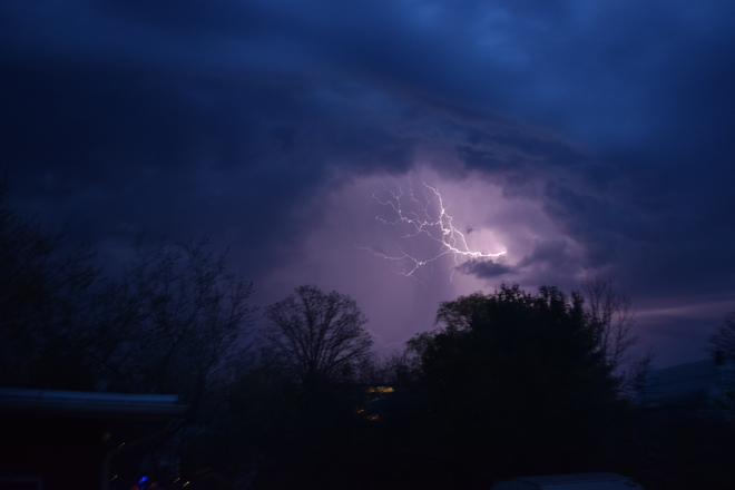 Lightning Storm Quinte West, Ontario, CA