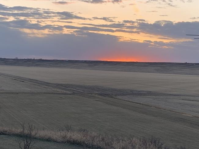 Sunset in the valley Lumsden, Saskatchewan, CA