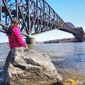 Une photo sur la Rive du Fleuve, au Vieux Pont de Québec