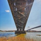 Sous le Vieux Pont de Québec