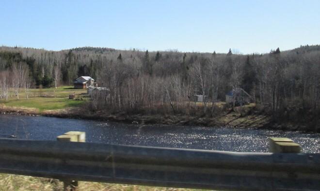 la rivière Saint-André-du-Lac-Saint-Jean, QC
