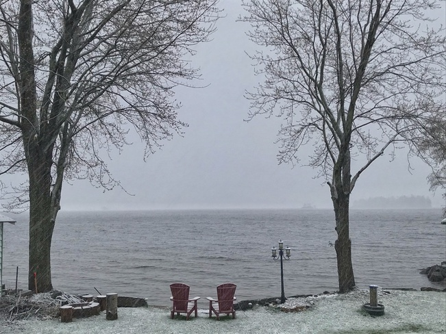 Spring time in Canada. Ebbs Bay, Drummond/North Elmsley, ON