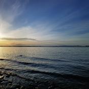 Coucher sur les rapides de Lachine