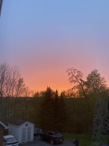 Ciel après la pluie Hull, Québec, CA