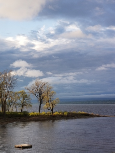 Active weather on the River today... Ottawa, ON