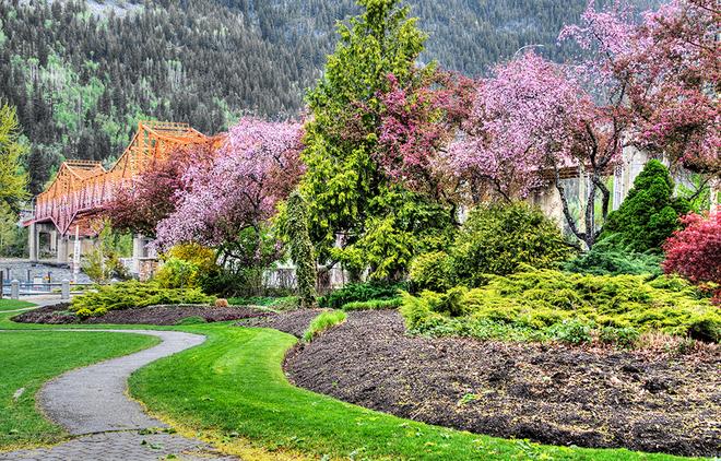 Lakeside park, Nelson, BC. Nelson, BC