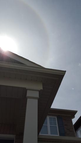 Ring around the sun! Pickering, ON