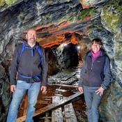 Parc de la Gorge de la Coaticook, la grotte!