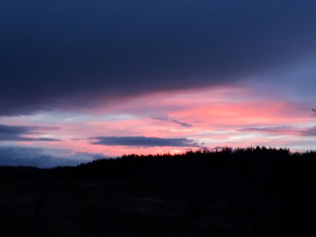 coucher de soleil a senneterre Senneterre, QC