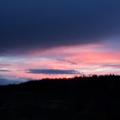 coucher de soleil a senneterre