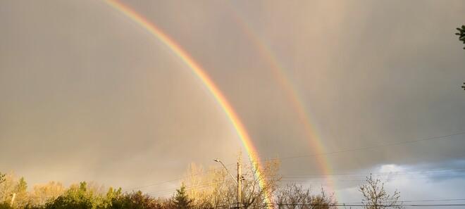 Double Rainbow Sudbury, ON