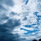 Merging skies