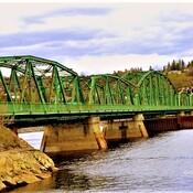 On traverse le pont.
