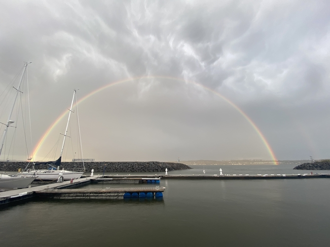 L'arc après la tempête Québec, Québec, CA