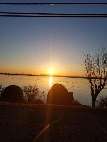 lever de soleil Chambly, QC