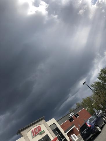 Ciel de tempête Magog, Québec, CA