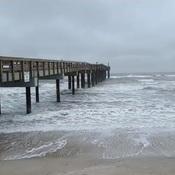 Jour de pluie...mer agitée