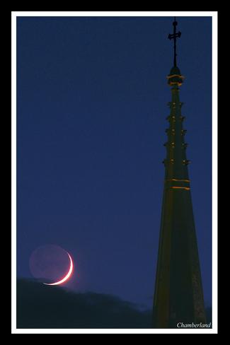 Trois-Rivières, croissant de lune. Trois-Rivières, QC