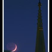 Trois-Rivières, croissant de lune.