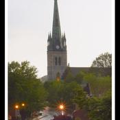 Trois-Rivières, centre-ville, 20h:15.,