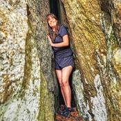 Une grotte au Mont Pinnacle