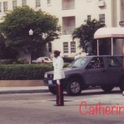 Dashing Traffic Cop-Nassau Bahamas