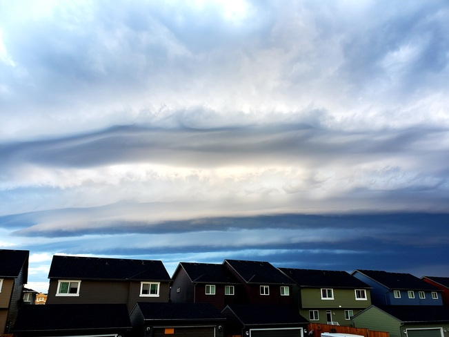 beautiful clouds Airdrie, AB