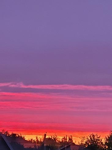 coucher de soleil Saint-Lin-Laurentides, QC