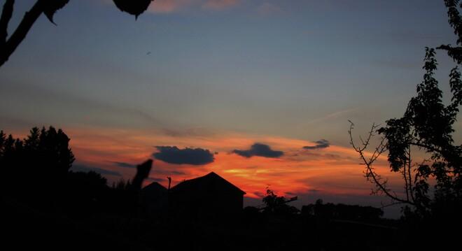 Au coucher du Soleil Chambord, QC