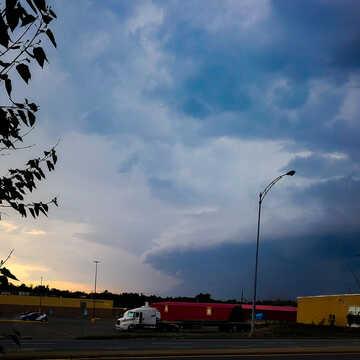 Entre le soleil et la tempête à Rouyn-Noranda