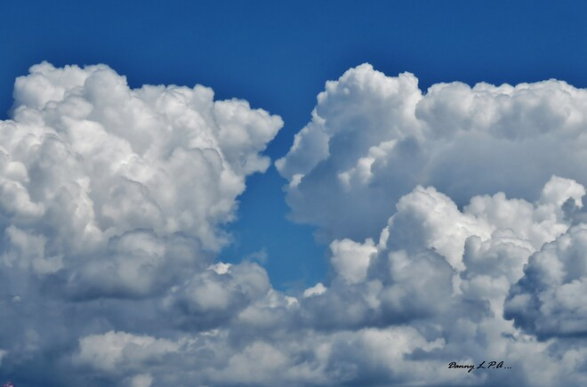 Rencontre de deux nuages ! St-André de Kamouraska .