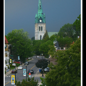 Trois-Rivières, 8 juin..juste avant l orage
