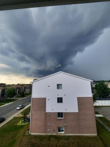 L'orage arrive... Trois-Rivières, QC