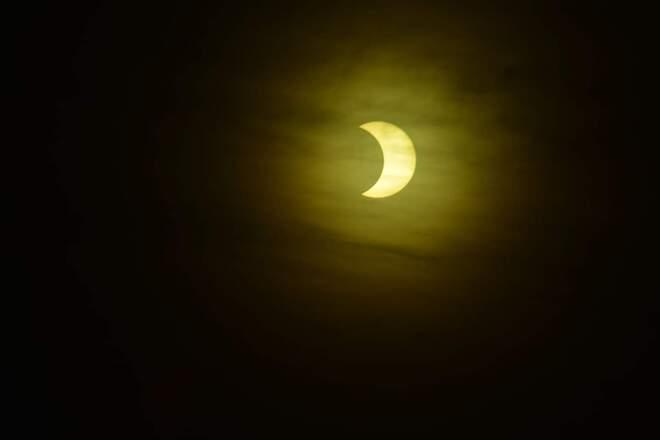 Éclipse 10-06-21 Sainte-Marie, QC