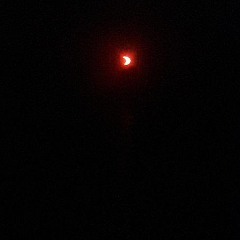 Sunrise Solar eclipse Burlington, ON