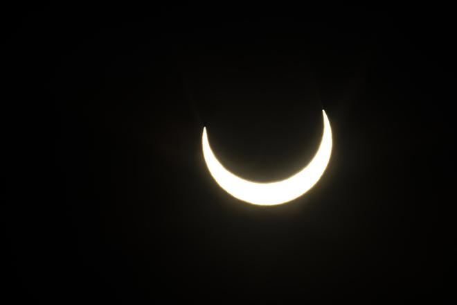Éclipse lunaire Saint-Aimé-des-Lacs, QC