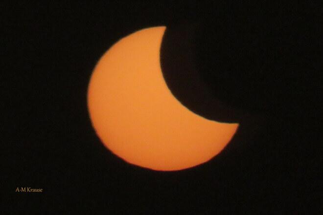 Éclipse Saint-Pierre-de-la-Rivière-du-Sud, QC