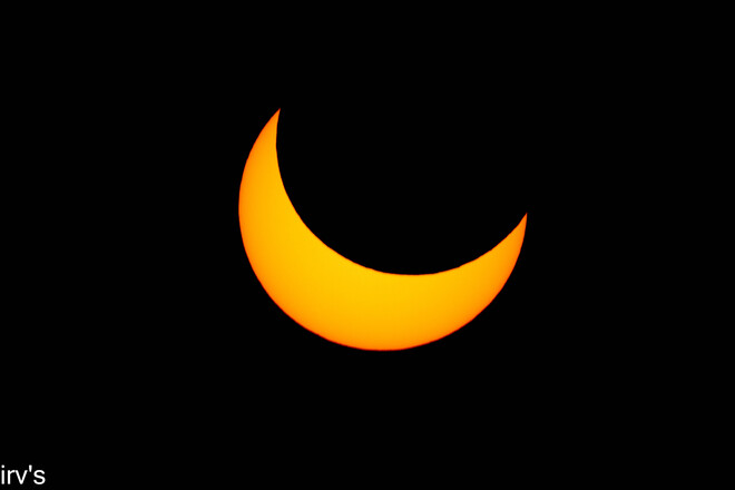 partial eclipse 2021 NB Cap-Lumière, NB