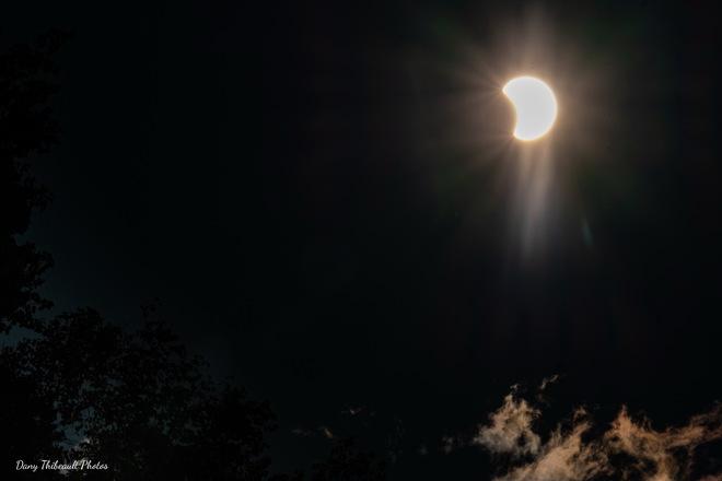 Éclipse L'Anse-Saint-Jean, QC