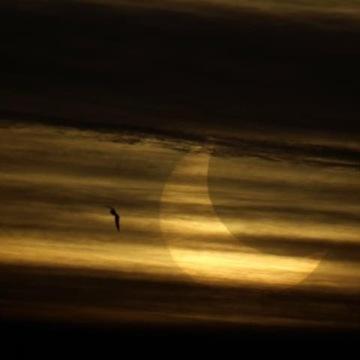 Éclipse partielle Lavaltrie