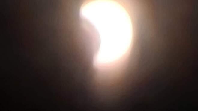 éclipse lunaire Chertsey, QC