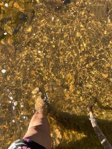 les pieds dans l'eau Saint-Jean-de-Dieu, QC