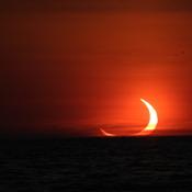 Annual solar eclipse June 10th